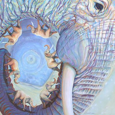 Saturn Print by Sarah Soward