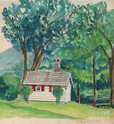 Sauna At Murray Hollow Print by Fred Jinkins