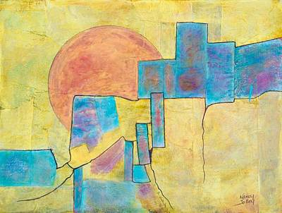 Sausalito Print by Nancy Jolley