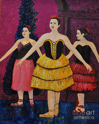 Ballet Painting - Savannah by Reb Frost