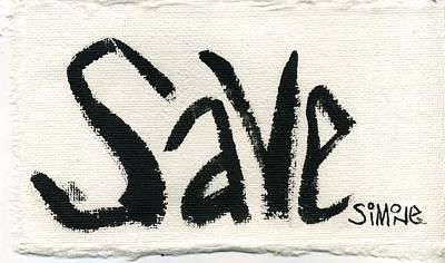 Save Original by Simone Frank