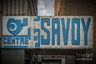 Savoy Centre Glasgow Print by Antony McAulay