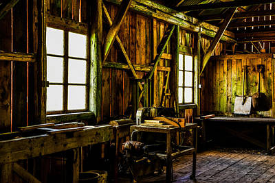 Saw Mill Print by Toppart Sweden