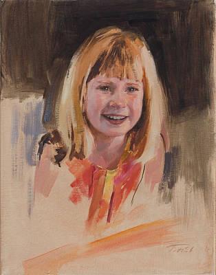 Kansas Artist Painting - Sawyer by Patrick Saunders