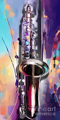 Saxophone Original by Melanie D