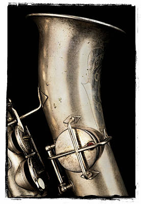 Saxophone Photograph - Saxophone Profile Two by Patrick Chuprina