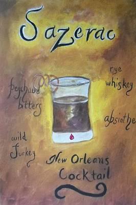 Sazerac Print by Marian Hebert