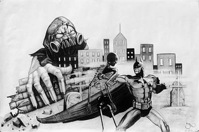Scarecrows Nightmare Original by Suzanne Roach
