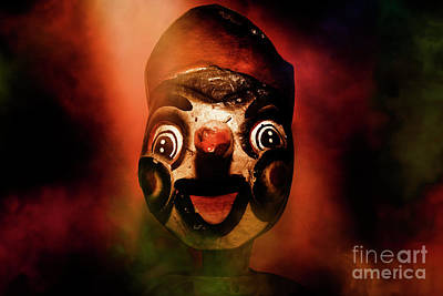 Scary Side Show Puppet Print by Jorgo Photography - Wall Art Gallery