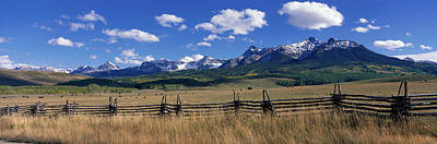 Split Rail Fence Photograph - Scene Along Last Doller Road North by Panoramic Images