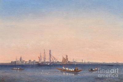 Bosphorus Painting - Scene At The Bosphorus by Celestial Images