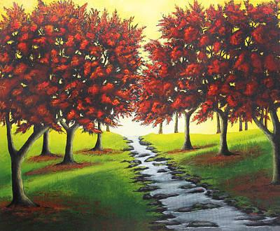 Scenery Of Natural Beauty Original by Nirdesha Munasinghe