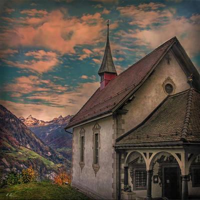 Scenic Chapel Print by Hanny Heim