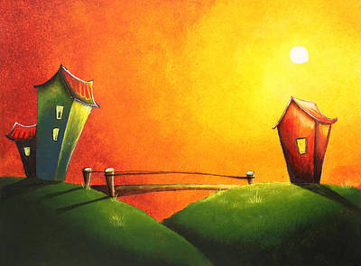 Scenic Landscape  Print by Nirdesha Munasinghe