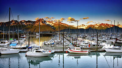 Scenic Seward Alaska Print by Mountain Dreams