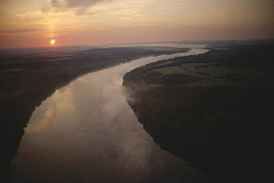 Scenic View Of The Potomac River Print by Sam Abell