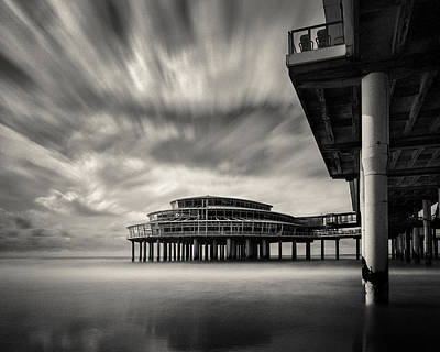 Underneath Photograph - Scheveningen Pier 1 by Dave Bowman