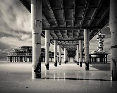 Underneath Photograph - Scheveningen Pier 3 by Dave Bowman