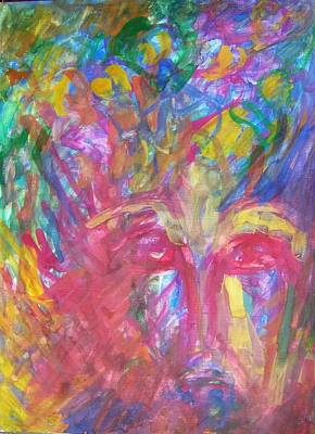 Mental Painting - Schizophrenia by Judith Redman