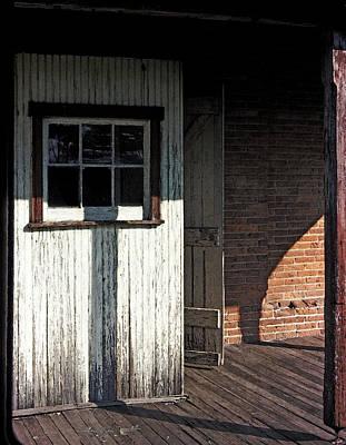 Schoolhouse Mixed Media - Schoolhouse Door by Carol Everhart Roper