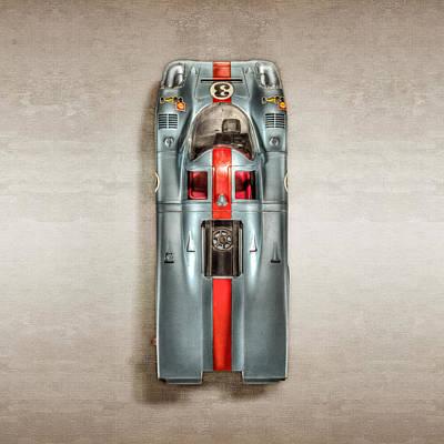 Formula Car Photograph - Schuco Porsche 917 Top by YoPedro