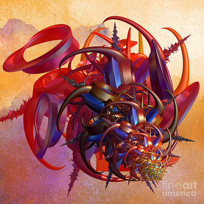 Sci-fi Insect Print by Gaspar Avila