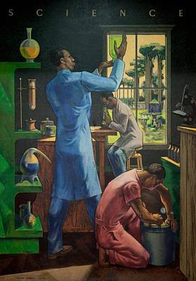 Education Painting - Science by Millard Owen Sheets