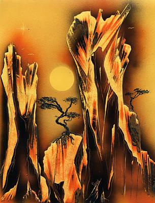 Scorcher Print by Jason Girard