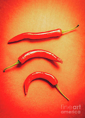 Scorching Food Background Print by Jorgo Photography - Wall Art Gallery
