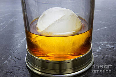 Scotch On The Rocks Print by Karen Foley