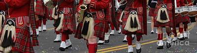 Marching Band Photograph - Scottish  by LKB Art and Photography