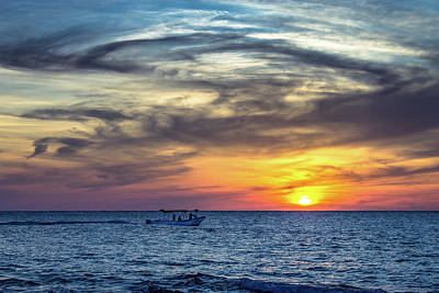 Sunset Photograph - Scuba Diving Anyone? by Fred  Boehm