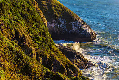 Costal Photograph - Sea And Land by Garry Gay