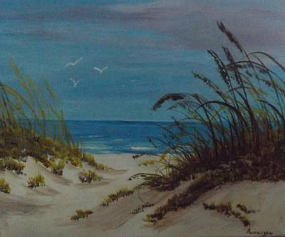 Painting - Sea Breeze 2 by Pamela Anderson