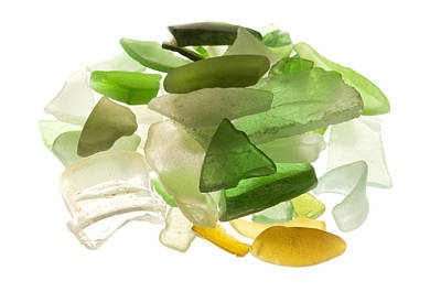 Cut Out Photograph - Sea Glass by Fabrizio Troiani