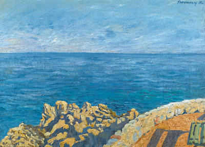 Painting - Sea by Karoly Ferenczy