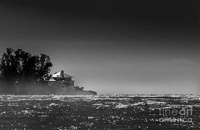 Turbulent Photograph - Sea Mist by Marvin Spates