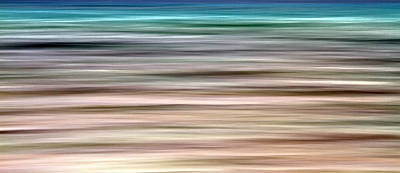Colored Background Photograph - Sea Movement by Stelios Kleanthous
