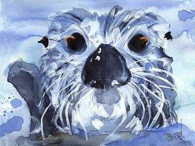 Otter Painting - Sea Otter by Dawn Derman