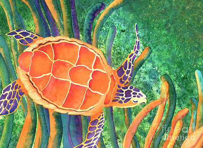 Endangered Wildlife Painting - Sea The Beauty by Tracy L Teeter