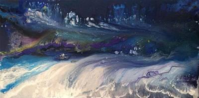 Sea Turbulence Print by Ivy Stevens-Gupta