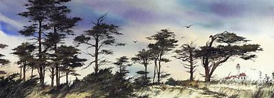 Seacoast Light Print by James Williamson