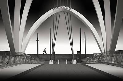 Seafarers Bridge Print by Adrian Donoghue