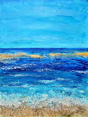 Seafoam Original by Regina Valluzzi