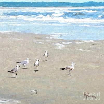 Painting - Seagulls by Tammy Lee Bradley