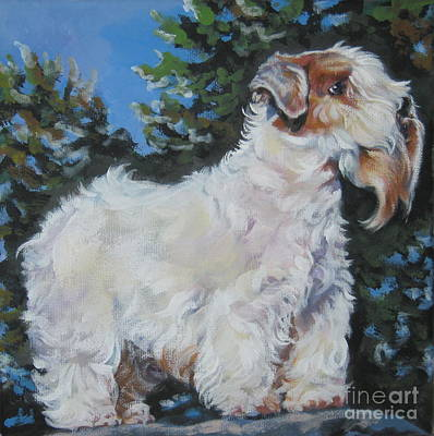 Sealyham Painting - Sealyham Terrier by Lee Ann Shepard