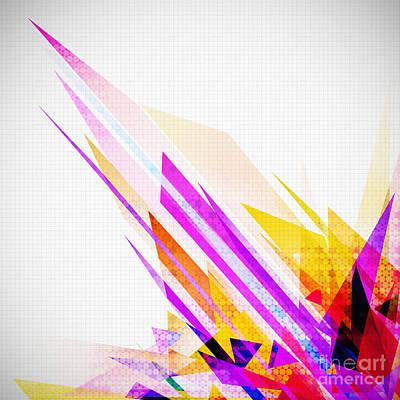 Seamless Honeycomb Pattern Print by Setsiri Silapasuwanchai