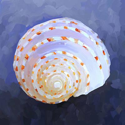 Seashell Iv Print by Jai Johnson