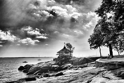 Atlantic Ocean Photograph - Seaside Gazebo by Jessica Jenney