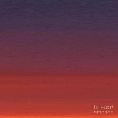 Seaside Heights Digital Art - Seaside Heights Nj Sunset by Nash Hale
